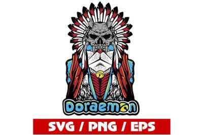 native Doraemon Font SVG / Doraemon SVG /sacred Doraemon Letters SVG
