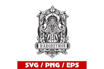 digimon SVG / wargreymon SVG /greymon SVG / cyberpunk svg /Cricut