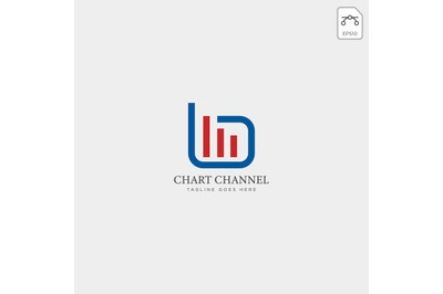 statistic simple chart logo vector