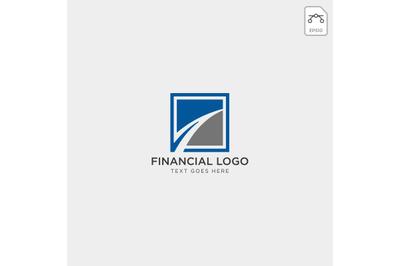 finance abstract logo vector template