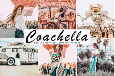 Coachella Mobile & Desktop Lightroom Presets