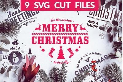 Christmas Quotes SVG Pack | Christmas SVG Bundle