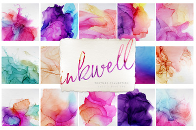 Inkwell Paper Textures Alcohol Ink Backgrounds
