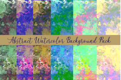 BBC Abstract Watercolor Background Pack