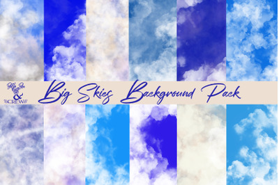 Big Skies Background Pack