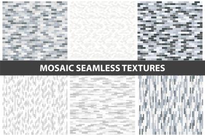 Mosaic wall textures - seamless.