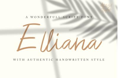 Elliana - Handwritten Script