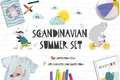 Scandinavian Summer Set