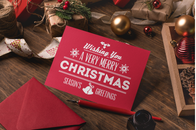 Wishing You a Very Merry Christmas | Christmas SVG Quote