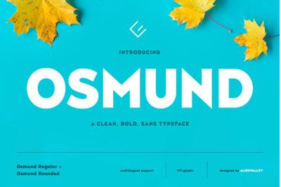 Osmund - Bold Sans Serif