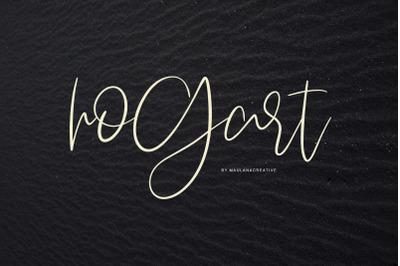 Hogart Script