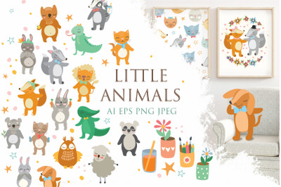Little animals set