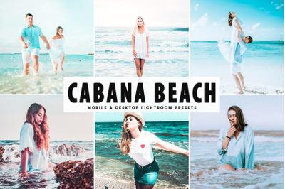Cabana Beach Mobile & Desktop Lightroom Presets