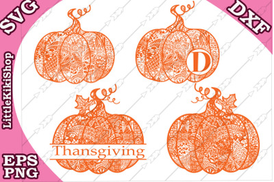 Bundle Pumpkin Svg Thanksgiving clipart,Monogram Svg