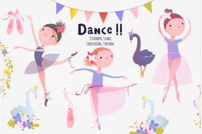 Little ballet dancers.