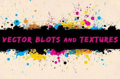 Vector Blots and Textures
