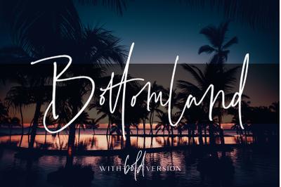Bottomland - Family Signature Script