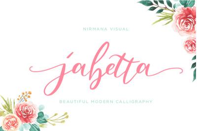 Jabetta Script