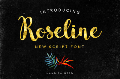 Roseline - Script Font