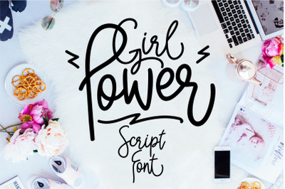 Girl Power Font