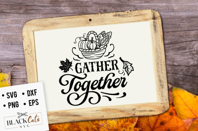 Gather together SVG