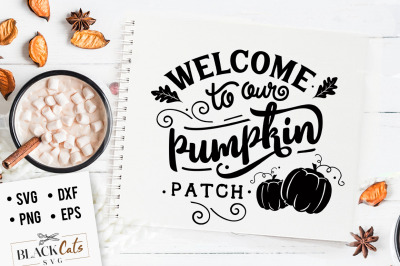Welcome to our pumpkin patch SVG