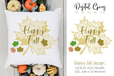 Happy Fall design