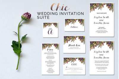 Chic Wedding Suite