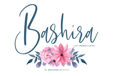 Bashira Brush Script