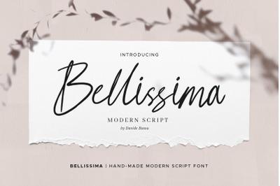 Bellissima - Messy & Modern Script