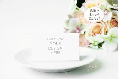 Place Card Mockup / Name Card Mockup / 3.5x2 Card Mockup