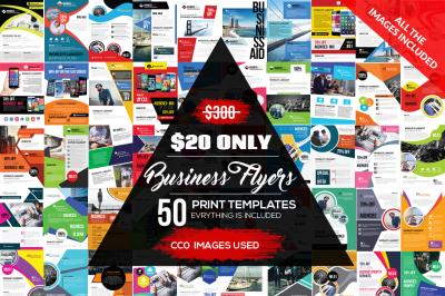 50 New Business Flyer Bundle Vol.4