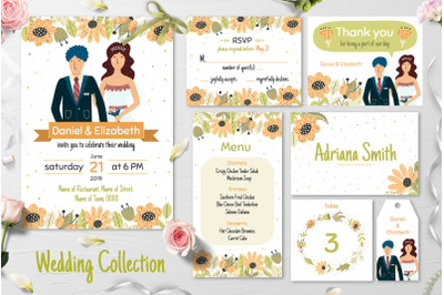 Bride and Groom Wedding Collection