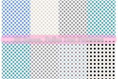 30 items. Polka Dot Patterns