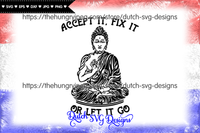 Text cutting file with buddha, buddha svg, boeddha svg
