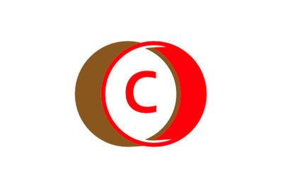 c letter circle logo