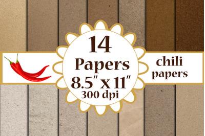 Kraft Digital Papeers, craft digital papers, A4 digital