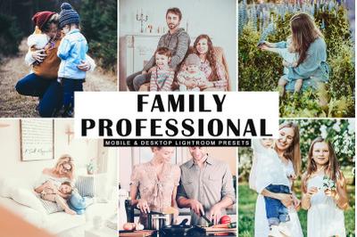 Family Professional Mobile & Desktop Lightroom Presets