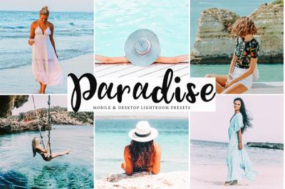 Paradise Lightroom Presets Pack