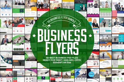 50 Business Flyer Bundle Vol.3