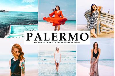Palermo Mobile & Desktop Lightroom Presets