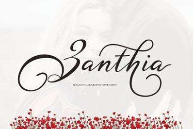 Zanthia Script