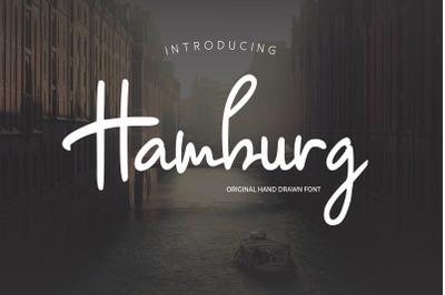 Hamburg - Siganture Font