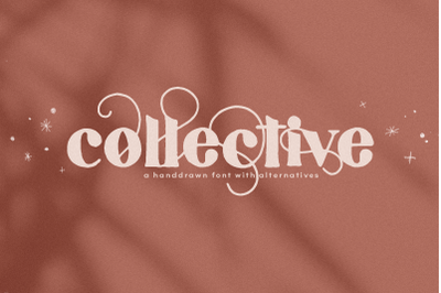 Collective - Hand-drawn Serif Font with Swashes