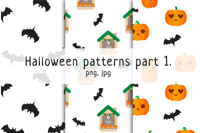 Halloween seamless pattern p. 1