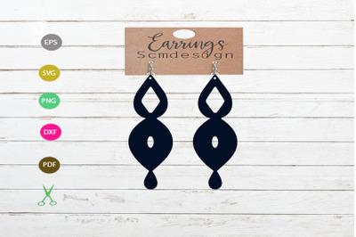 earrings svg cut file, earrings silhouette, earrings design