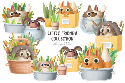 Cute little friends