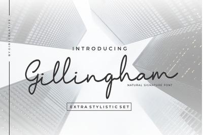 Gillingham Signature Font
