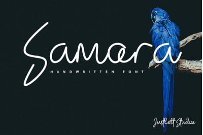 Samora - Handwritten Font