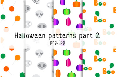 Halloween seamless pattern p. 2